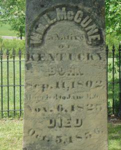 MCCune Family Cemetery