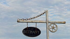 Bethany Cemetery Sign